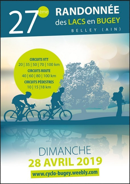 Calendrier Des Randonnees Pedestres Dans Lain 2020.La Randonnee Des Lacs En Bugey A Belley Club Cycliste De