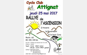 Rallye de l'Ascension à Attignat